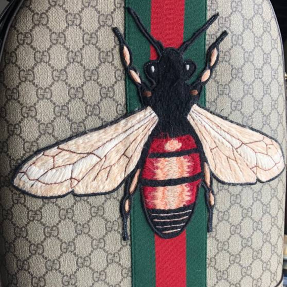 01a8a30df44b Gucci Bags | Backpack Web Animalier Backpack With Bee | Poshmark